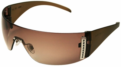 Uvex W100 Series with Brown Frosted Frame and Espresso Hardcoat Lens