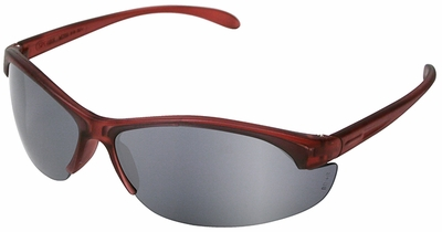 Uvex W200 Series with Dusty Rose Frame and Silver Mirror Hardcoat Lens
