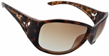 Vast Saksi Women's Safety Sunglasses with Tortiose Frame and Brown Gradient Lens