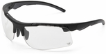 Venture Gear Drone Tactical Safety Sunglasses with Black Frame and Clear Anti-Fog Lens
