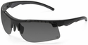 Venture Gear Drone Tactical Safety Sunglasses with Black Frame and Gray Anti-Fog Lens