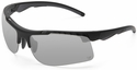 Venture Gear Drone Tactical Safety Sunglasses with Black Frame and Silver Mirror Lens