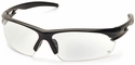 Venture Gear Semtex Tactical Safety Sunglasses with Black Frame and Clear Anti-Fog Lens