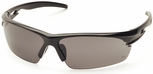 Venture Gear Semtex Tactical Safety Sunglasses with Black Frame and Gray Anti-Fog Lens