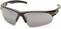 Venture Gear Semtex Tactical Safety Sunglasses with Black Frame and Silver Mirror Lens
