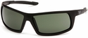 Venture Gear Stonewall Tactical Safety Sunglasses with Black Frame and Smoke Green Anti-Fog Lens