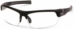 Venture Gear Tensaw Safety Sunglasses with Black Frame and Clear Anti-Fog Lens
