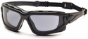 Venture Gear Wolfhound Tactical Safety Sunglasses with Black Frame and Gray Anti-Fog Lens