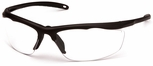 Venture Gear Zumbro Safety Sunglasses with Bronze Frame and Clear Anti-Fog Lens