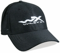 Wiley X Black Fitted Cap with Wiley X Logo