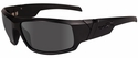 Wiley X Hydro Black Ops Safety Sunglasses with Matte Black Frame and Smoke Grey Lens