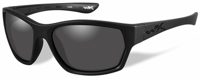 Wiley-X Moxy Black Ops Safety Glasses with Matte Black Frame and Smoke Grey Lens