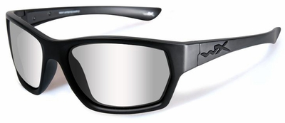 Wiley X WX Moxy Black Ops Safety Glasses with Matte Black Frame and Clear Lens