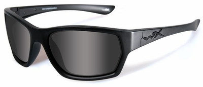 Wiley X WX Moxy Black Ops Safety Sunglasses with Matte Black Frame and Clear Lens
