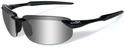Wiley X WX Tobi Safety Sunglasses with Black Frame and Polarized Silver Flash Lens