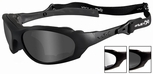 Wiley X XL-1 Advanced Ballistic Safety Glasses Kit with Matte Black Frame and Grey & Clear Lenses