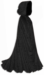 SALE!  Add a Matching Crush Velvet Plus Size Cape!  BLACK - RED - PINK - PURPLE - WHITE