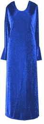 Amazing Customizable Blue Glimmer Plus Size & Supersize Dress or Shirt  1x 2x 3x 4x 5x 6x 7x 8x 9x