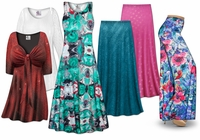 Beautiful, Fun, Casual & Fancy Plus Size Slinky Prints