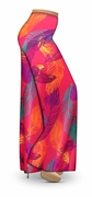 SOLD OUT! CLEARANCE! Birds of a Feather Slinky Print Plus Size & Supersize Palazzo Pants 3x