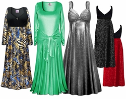 Mid to Glamorous Plus Size Evening Dresses