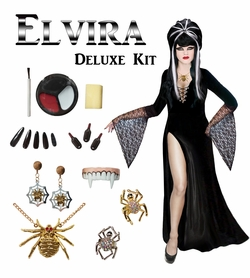 Coming Soon! Elvira Plus Size Supersize Costume / Accessory Kit! Large to 9x
