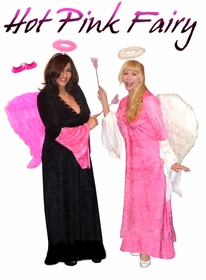 NEW! Hot Pink Fairy + Add Accessories Plus Size Supersize Halloween Costume Kit Large to 9x