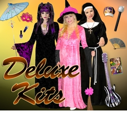Plus Size Deluxe Costume Sets & Dresses