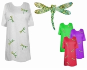 FINAL SALE! DragonFly Holograms Plus Size & Supersize T-Shirts 6x