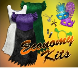 Plus Size Economy Costume Sets & Dresses