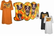 FINAL SALE! Boo Kittens Halloween Puff Plus Size & Supersize T-Shirts 4x