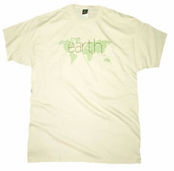 """FINAL SALE! Just Reduced!  Earth """"Don't Turn Your Back On It"""" Plus Size T-Shirts S M"""