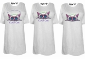 FINAL SALE! I'm a Proud Owner of a Cool Cat! Plus Size & Supersize T-Shirts 6x