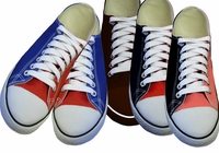 SALE! Shoe Sale! Lace-Up Canvas Basketball Style Sneakers Several Colors in Sizes 8, 11