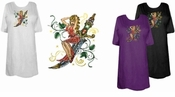 FINAL SALE! Lady Dagger Plus Size & Supersize T-Shirts 3x