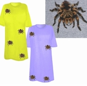 FINAL SALE! Tarantula Spider Plus Size T-Shirts! 2x