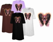 FINAL SALE! Wings & Butterfly Plus Size & Supersize T-Shirts 6x