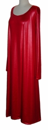 Gorgeous Red Red Red Plus Size Spandex Dress or Shirt 1x to 9x
