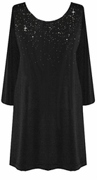 Gorgeous Silver or Gold Rhinestud Starry Night Plus Size TOP - JACKET - SKIRT - TANK - DRESS <br>Lg XL 0x 1x 2x 3x 4x 5x 6x 7x 8x 9x