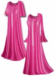 Gorgeous Sheer Light Pink Slinky Plus Size & Supersize Customizable A-Line or Princess Cut Dresses, Shirts, Pants, Skirts  or Jackets Lg to 9x