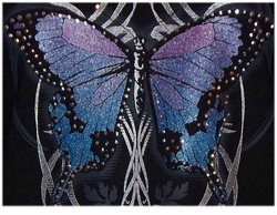 SOLD OUT! Gothic Butterfly Plus Size & Supersize T-Shirts S M L XL 2x 3x 4x 5x 6x 7x 8x