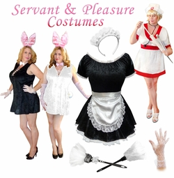 Here to Serve You! Plus Size Servant & Pleasure Costumes