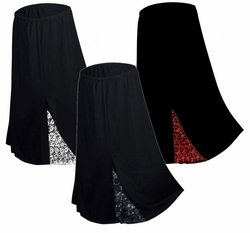 SALE! Hot! Slinky or Velvet Lace Gothic Skirts Plus Size & Supersize 2x/3x