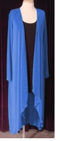 HOT! Slinky / Velvet or Glimmer Cascading Wrap Dresses or Jackets Lg Xl 0x 1x 2x 3x 4x 5x 6x 7x 8x
