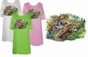 FINAL SALE! Leopard Mom and Cub Plus Size & Supersize T-Shirts 6x