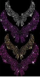 Many Colors! Rhinestone Neckline Plus Size & Supersize T-Shirts S M L XL 2x 3x 4x 5x 6x 7x 8x