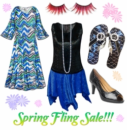 Spring Fling Misc Plus Size Items on Sale!