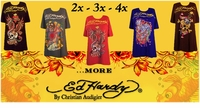 More.... Ed Hardy Plus Size T-Shirts 2x 3x 4x NEW!