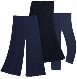 Navy Blue, Black or Purple Poly/Cotton, Slinky, Spandex, Mock Denim or Velvet Plus Size Pants, Skirts & Palazzos - Customizable! Plus & Supersize 0x 1x 2x 3x 4x 5x 6x 7x 8x 9x