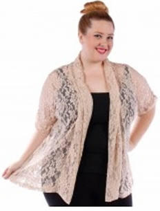 SALE! Beige or Black Knit Cardigan Coverup Top Plus Size 4x 5x 6x